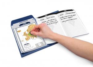 Jurnal de voiaj Travelogue cu harti razuibile1