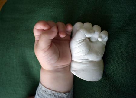 Kit amprenta bebe manuta si piciorus [2]