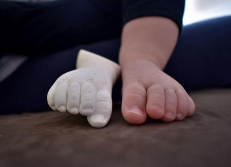 Kit amprenta bebe manuta si piciorus [3]