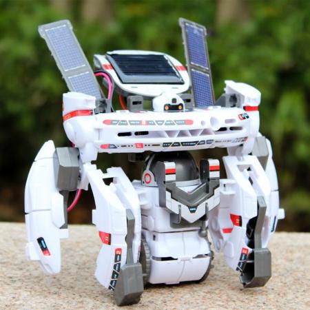 Robot jucarie Kit Educational 7 in 1 Flota Spatiala [0]