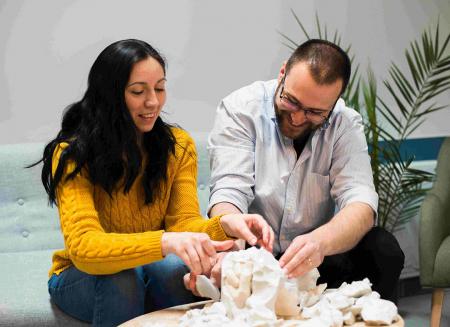 Kit mulaj 3D pentru iubiti, mainile noastre impreuna1