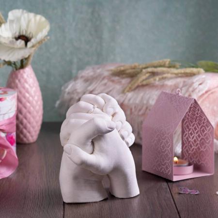 Kit mulaj 3D pentru iubiti, mainile noastre impreuna0