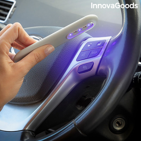Lampa bactericida UV Lumean pentru dezinfectie, design portabil3