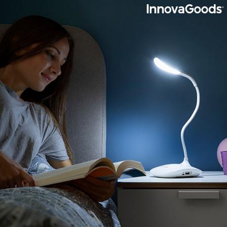 Lampa de birou portabila, cu touch control, Flexy Lummy1