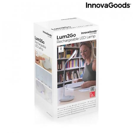 Lampa de birou portabila, cu touch control, Flexy Lummy12