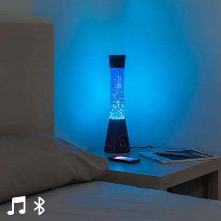 Lampa lava cu difuzor si microfon0