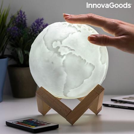 Lampa Terra 3D, 16 culori [0]