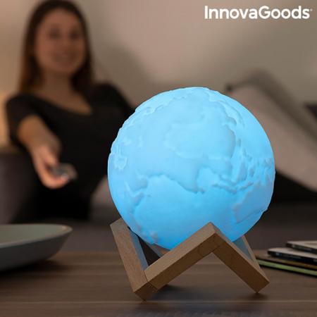 Lampa Terra 3D, 16 culori [3]