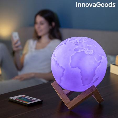 Lampa Terra 3D, 16 culori [5]