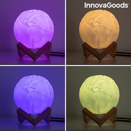 Lampa Terra 3D, 16 culori [11]