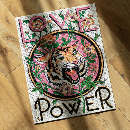 Love is Power, Puzzle Editie Artistica, 500 piese2