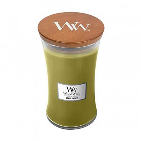 Lumanare parfumata Woodwick apple basket Borcan mare2