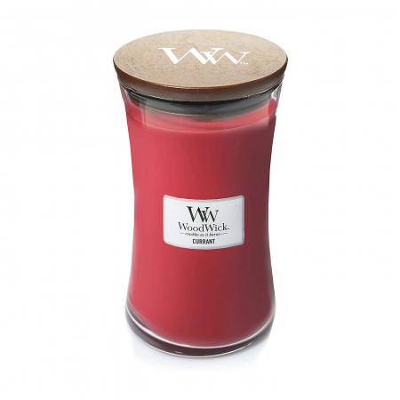 Lumanare parfumata Woodwick currant Borcan mare2