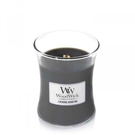 Lumanare parfumata Woodwick evening bonfire Borcan mediu1
