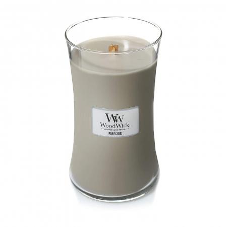 Lumanare parfumata Woodwick fireside Borcan mare4