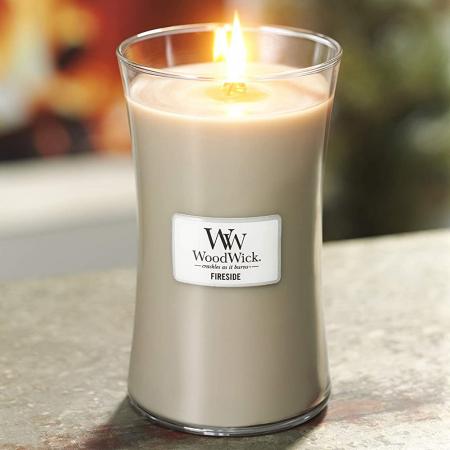 Lumanare parfumata Woodwick fireside Borcan mare3