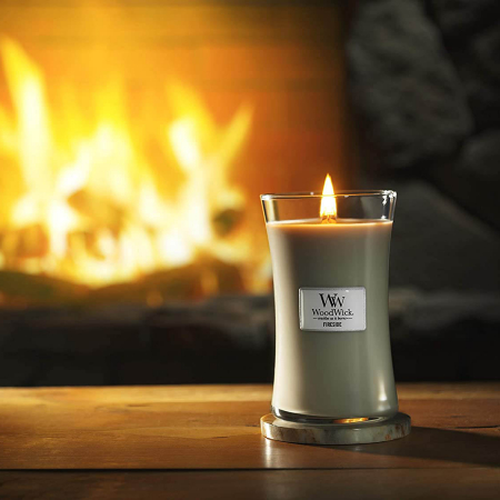 Lumanare parfumata Woodwick fireside Borcan mare0