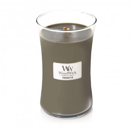 Lumanare parfumata Woodwick frasier fir Borcan mare1
