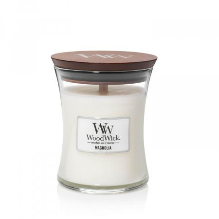 Lumanare parfumata Woodwick magnolia Borcan mediu2
