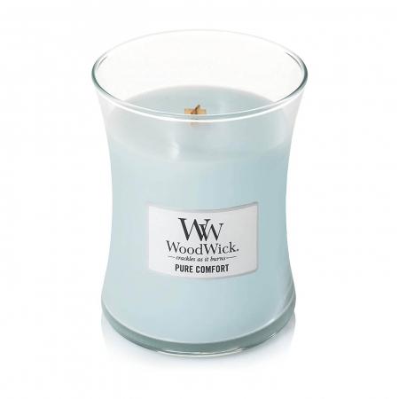 Lumanare parfumata Woodwick pure comfort borcan mediu1
