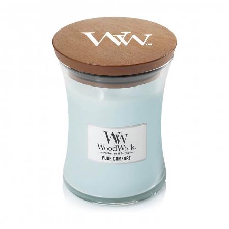 Lumanare parfumata Woodwick pure comfort borcan mediu2
