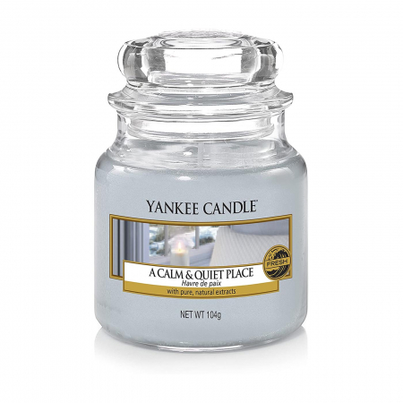 Lumanare parfumata Yankee Candle a calm quiet place Borcan mic1