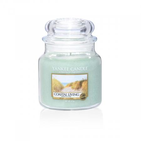 Lumanare parfumata Yankee Candle coastal living Borcan mediu2
