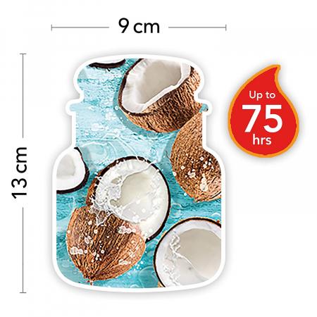 Lumanare parfumata Yankee Candle coconut splash Borcan mediu2