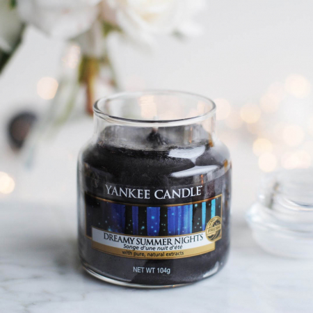 Lumanare parfumata Yankee Candle dreamy summer nights Borcan mic0