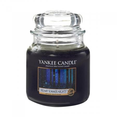 Lumanare parfumata Yankee Candle dreamy summer nights Borcan mic1