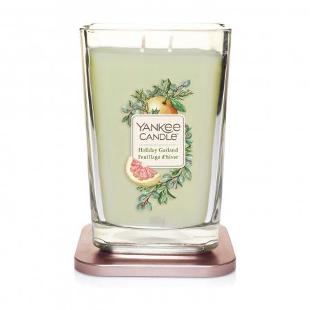 Lumanare parfumata Yankee Candle elevation collection holiday garland Borcan mare1
