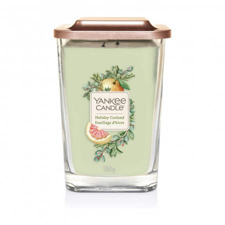 Lumanare parfumata Yankee Candle elevation collection holiday garland Borcan mare2