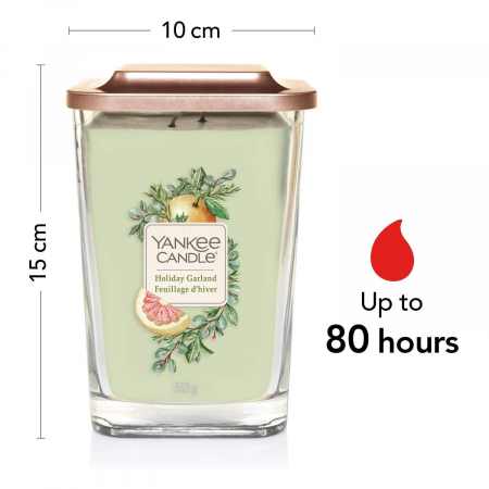 Lumanare parfumata Yankee Candle elevation collection holiday garland Borcan mare3