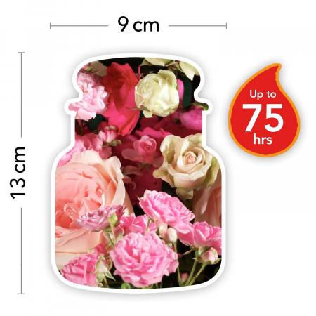 Lumanare parfumata Yankee Candle fresh cut roses Borcan mediu3