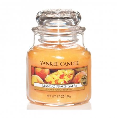 Lumanare parfumata Yankee Candle mango peach salsa Borcan mic1