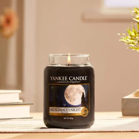 Lumanare parfumata Yankee Candle midsummer's night Borcan mare0