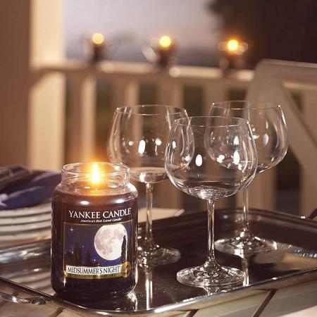 Lumanare parfumata Yankee Candle midsummer's night Borcan mare2