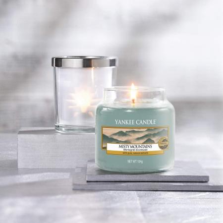 Lumanare parfumata Yankee Candle misty mountains Borcan mic0
