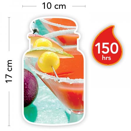 Lumanare parfumata Yankee Candle passion fruit martini Borcan mare4