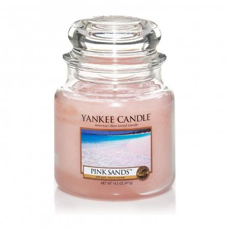 Lumanare parfumata Yankee Candle pink sands Borcan mediu1