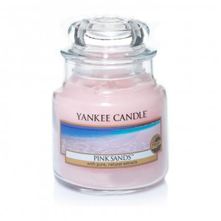 Lumanare parfumata Yankee Candle pink sands Borcan mic1