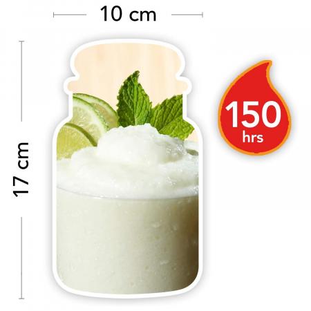 Lumanare parfumata Yankee Candle vanilla lime Borcan mare4