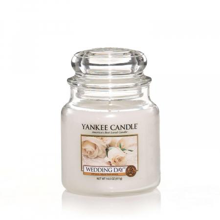 Lumanare parfumata Yankee Candle wedding day Borcan mediu1