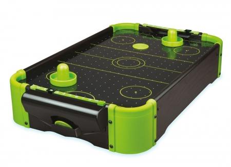 Masa air hockey cu elemente neon2