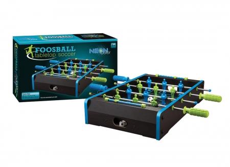 Masa de fotbal cu elemente neon3