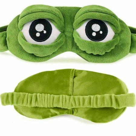 Masca de dormit Broscuta curioasa [4]