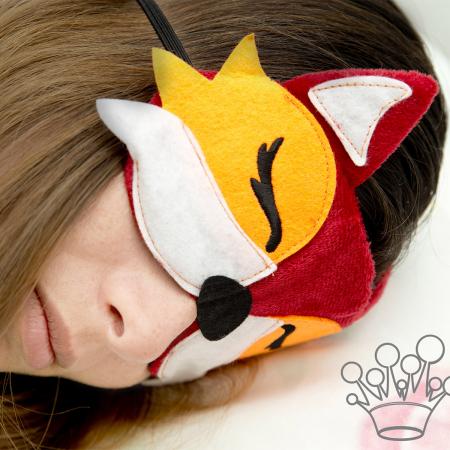 Masca de dormit Vulpe [0]
