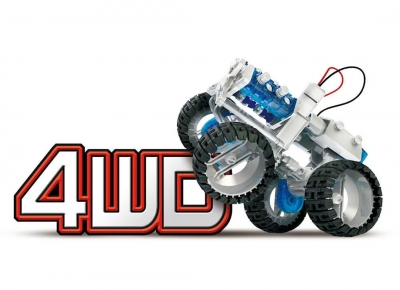 Masina 4x4 cu Motor cu apa sarata11