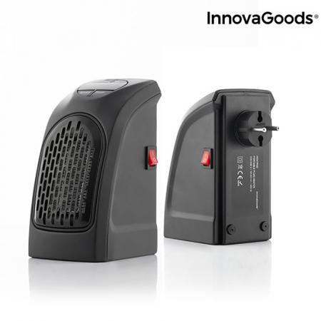Mini radiator ceramic de priza cu termostat reglabil6