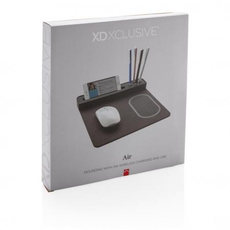Mousepad cu incarcare wireless 5W si USB9